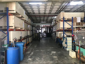 Warehousing space for rent
